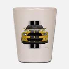 New Mustang GT Yellow Shot Glass