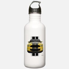 New Mustang GT Yellow Water Bottle