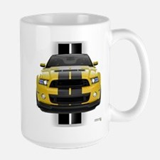 New Mustang GT Yellow Mug