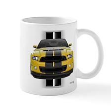 New Mustang GT Yellow Mug