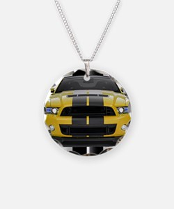 New Mustang GT Yellow Necklace