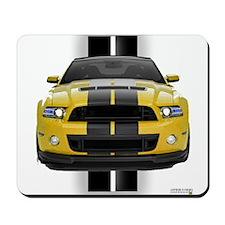 New Mustang GT Yellow Mousepad