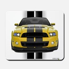 New Mustang GT Yellow Mousepad