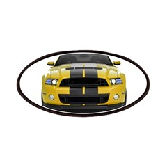 New Mustang GT Yellow Patches