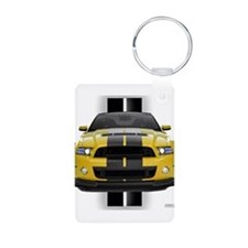 New Mustang GT Yellow Keychains
