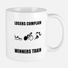 Triathlon Winners Train Mug