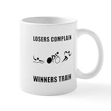 Triathlon Winners Train Mug