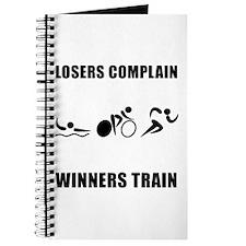 Triathlon Winners Train Journal