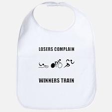 Triathlon Winners Train Bib