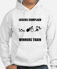 Triathlon Winners Train Hoodie