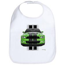 New Mustang Green Bib