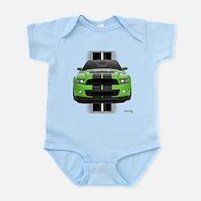 New Mustang Green Infant Bodysuit