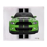 Ford mustang Blankets