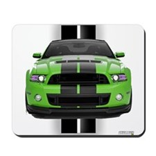 New Mustang Green Mousepad