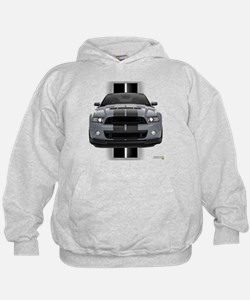 New Mustang GT Gray Hoody