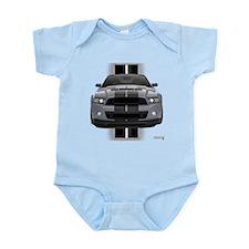 New Mustang GT Gray Infant Bodysuit