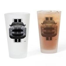 New Mustang GT Gray Drinking Glass