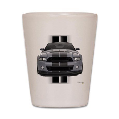 New Mustang GT Gray Shot Glass