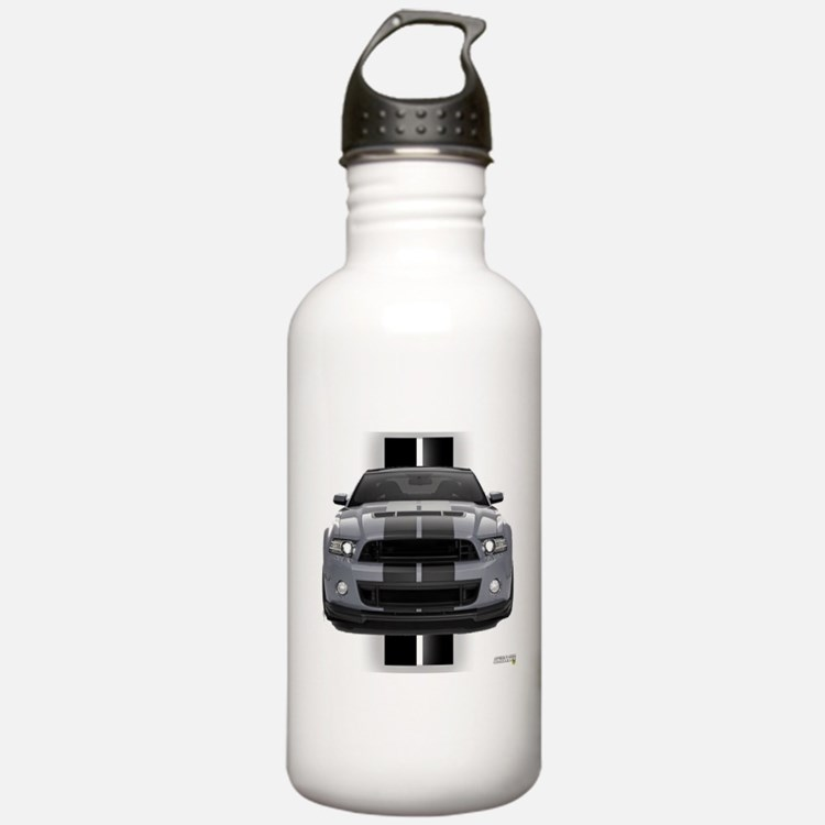 New Mustang GT Gray Water Bottle
