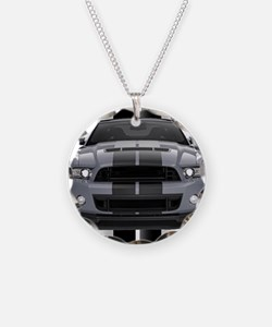 New Mustang GT Gray Necklace