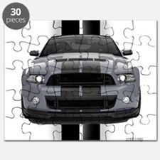 New Mustang GT Gray Puzzle
