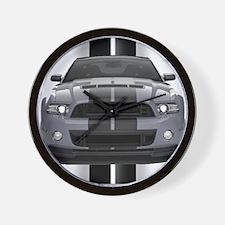 New Mustang GT Gray Wall Clock