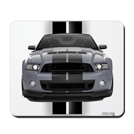 New Mustang GT Gray Mousepad