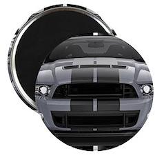 New Mustang GT Gray Magnet