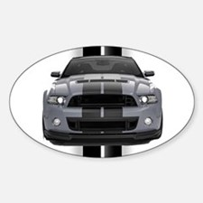 New Mustang GT Gray Decal