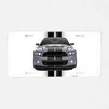 New Mustang GT Gray Aluminum License Plate