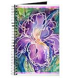 Iris flowers Journals & Spiral Notebooks