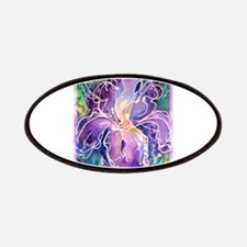 Iris, floral, art, Patches