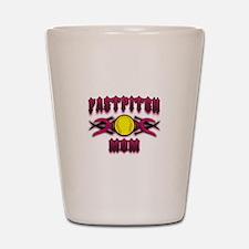 Fastpitch Tribal Mom Shot Glass