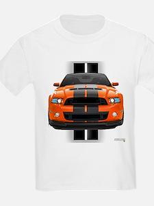 New Mustang GT Orange T-Shirt