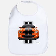 New Mustang GT Orange Bib
