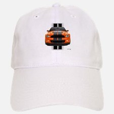 New Mustang GT Orange Baseball Baseball Cap