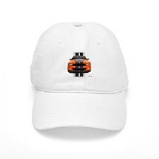 New Mustang GT Orange Baseball Cap