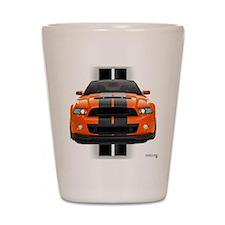 New Mustang GT Orange Shot Glass