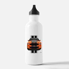 New Mustang GT Orange Water Bottle