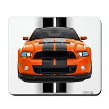 New Mustang GT Orange Mousepad