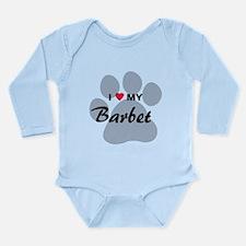 I Love My Barbet Long Sleeve Infant Bodysuit