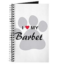 I Love My Barbet Journal