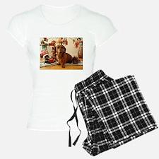 Christmas Dachshund (Ver1) Pajamas