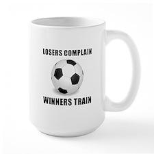 Soccer Winners Train Mug