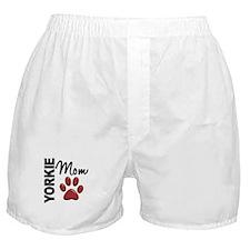 Yorkie Mom 2 Boxer Shorts