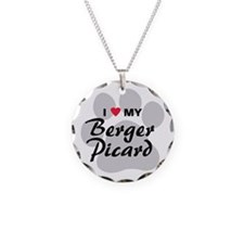 I Love My Berger Picard Necklace
