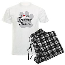 I Love My Berger Picard Pajamas