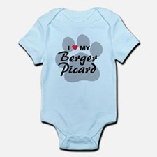 I Love My Berger Picard Infant Bodysuit