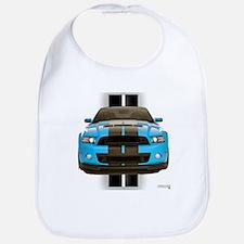 New Mustang Blue Bib