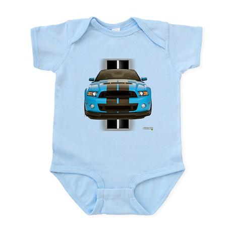 New Mustang Blue Infant Bodysuit